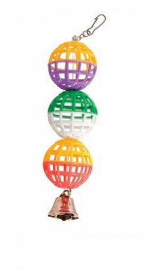 Obrázek z Tři koule se zvonečkem 22 cm
