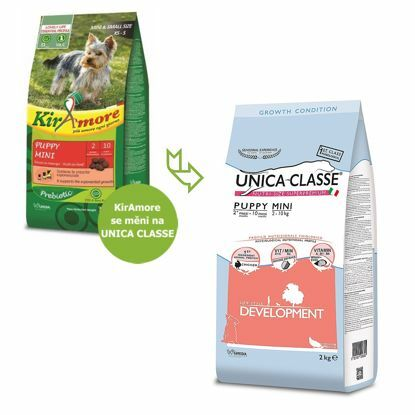 Obrázek UNICA CLASSE Development Puppy Mini Chicken 2 kg