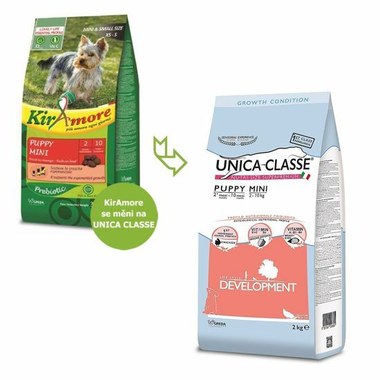 Obrázek z UNICA CLASSE Development Puppy Mini Chicken 7,5 kg