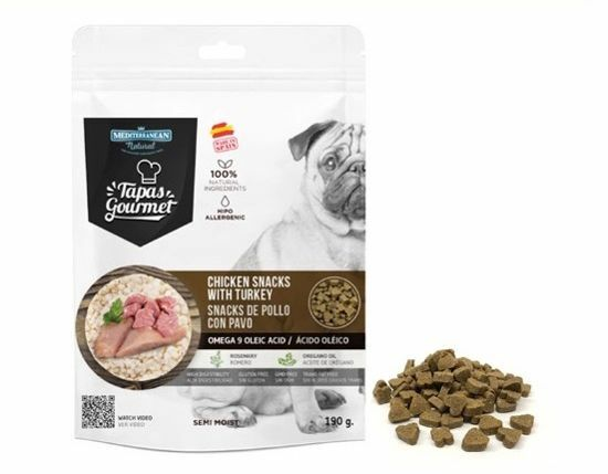 Obrázek z Tapas Gourmet snack for Dog Chicken and Turkey 190 g