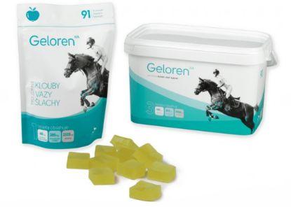 Obrázek Kloubní výživa kůň Geloren HA (3  x 450 g ) - jablečný