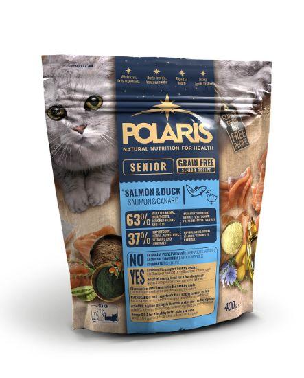 Obrázek z Polaris Cat Senior losos & kachna 400 g