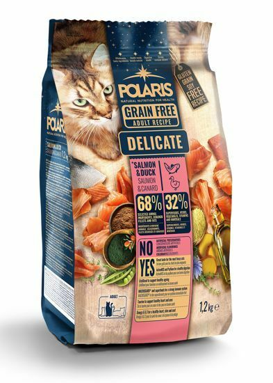 Obrázek z Polaris Cat Adult losos & kachna 1,2 kg