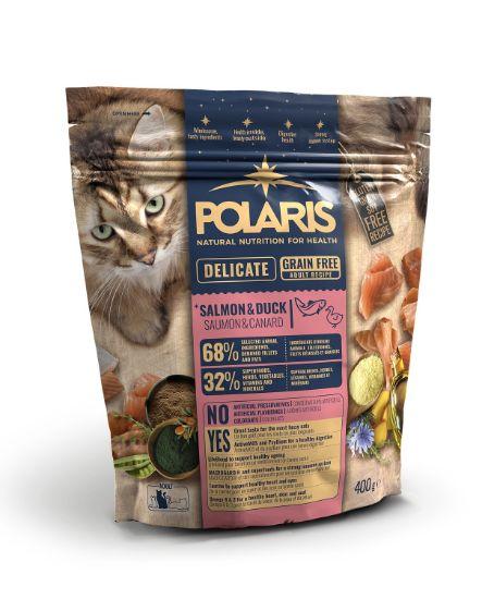 Obrázek z Polaris Cat Adult losos & kachna 400 g