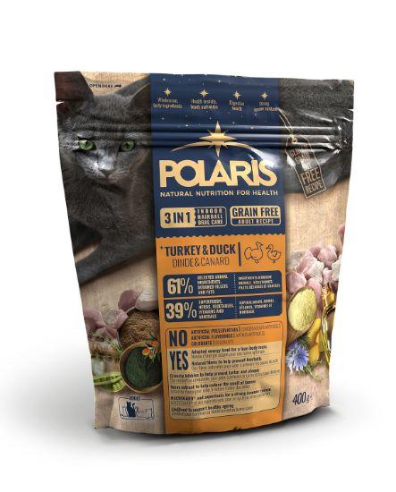 Obrázek z Polaris Cat Adult 3in1 krůta & kachna 400 g
