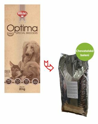 Obrázek Visán OPTIMA Sensitive Fish & Potato 20 kg