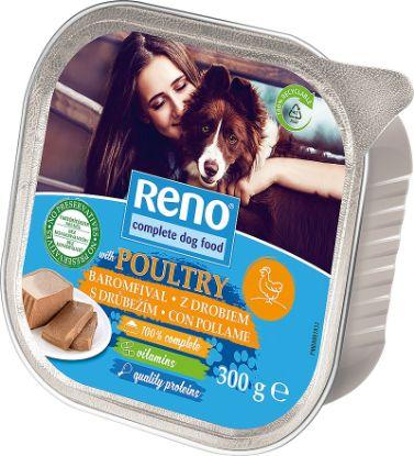 Obrázek RENO Dog drůbeží, vanička 300 g