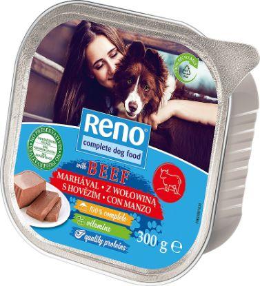 Obrázek RENO Dog hovězí, vanička 300 g
