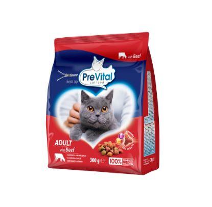 Obrázek PreVital kočka hovězí, granule 0,3 kg
