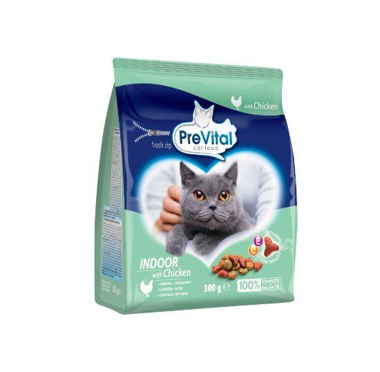 Obrázek z PreVital kočka domácí, kuřecí granule 0,3 kg