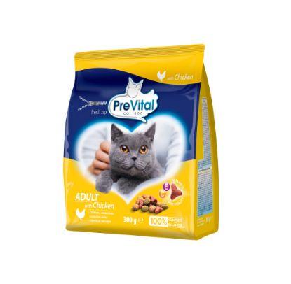 Obrázek PreVital kočka kuřecí, granule 0,3 kg