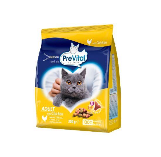 Obrázek z PreVital kočka kuřecí, granule 0,3 kg