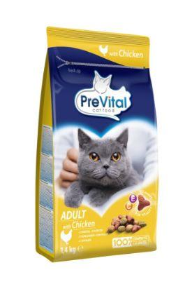 Obrázek PreVital kočka kuřecí, granule 1,4 kg