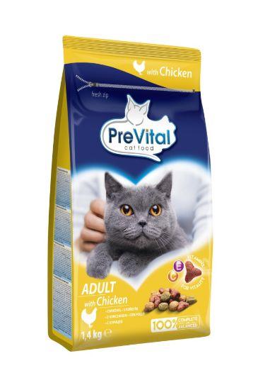 Obrázek z PreVital kočka kuřecí, granule 1,4 kg