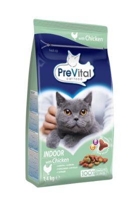 Obrázek PreVital kočka domácí, kuřecí granule 1,4 kg