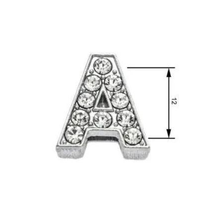 Obrázek Navlékací písmenka A 12 mm