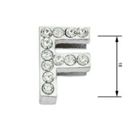 Obrázek Navlékací písmenka F 18 mm