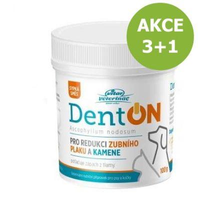 Obrázek Vitar veterinae DentON (De-Plague) redukce zubního kamene 100 g  3+1 ZDARMA