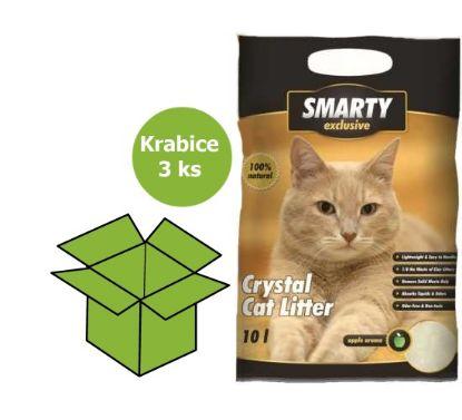Obrázek SMARTY exclusive silikátové stelivo 10 l AKCE 15 %