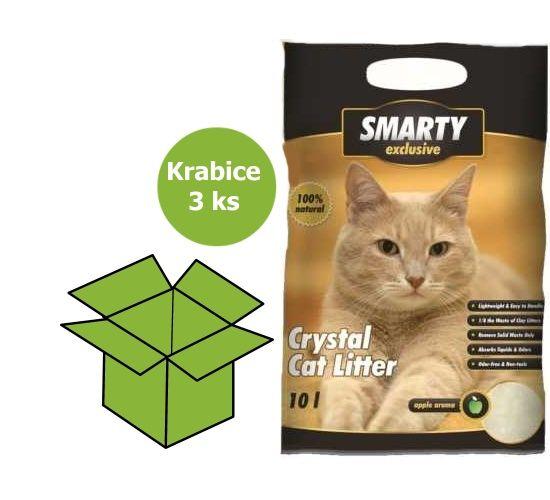 Obrázek z SMARTY exclusive silikátové stelivo 10 l AKCE 15 %