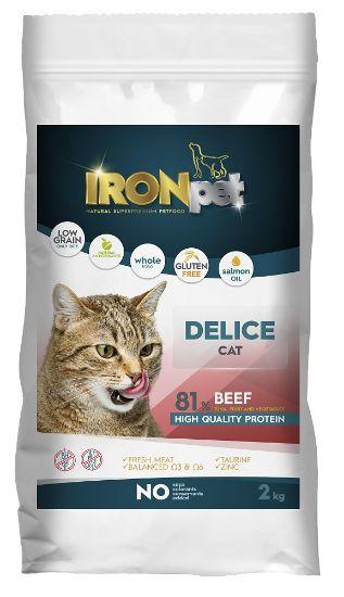 Obrázek z IRONpet Cat Delice Beef (Hovězí) 2 kg