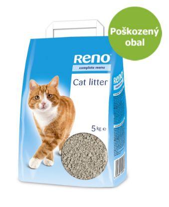 Obrázek RENO Cat stelivo 5 kg - Poškozený obal - SLEVA 10 %