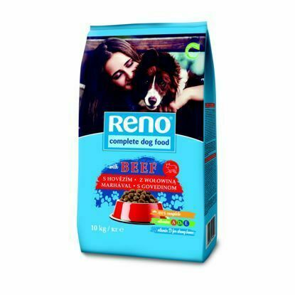 Obrázek RENO Dog hovězí , granule 10 kg