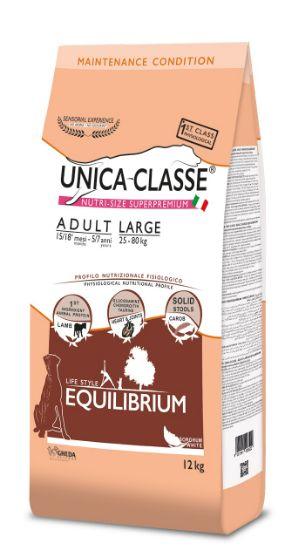 Obrázek z UNICA CLASSE Equilibrium Adult Large Lamb 12 kg