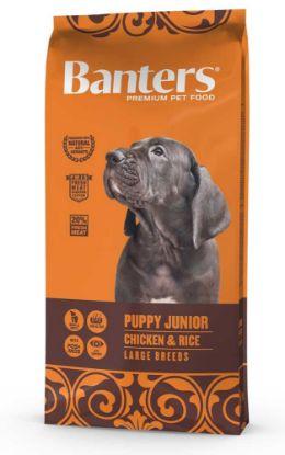 Obrázek Banters Puppy Junior Large Breeds Chicken & Rice 15 kg
