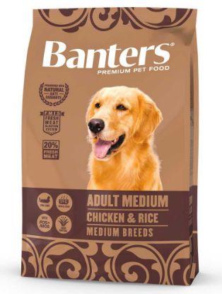 Obrázek Banters Adult Medium Chicken & Rice 3 kg