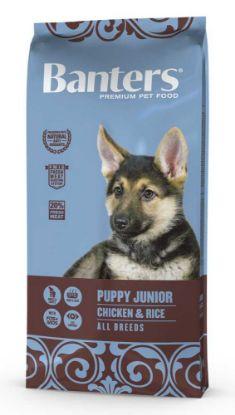 Obrázek Banters Puppy Junior Chicken & Rice 15 kg