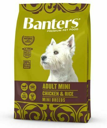 Obrázek Banters Adult Mini Chicken & Rice 8 kg
