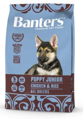 Obrázek Banters Puppy Junior Chicken & Rice 3 kg