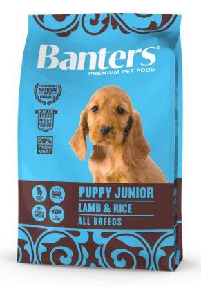 Obrázek Banters Puppy Junior Lamb & Rice 3 kg