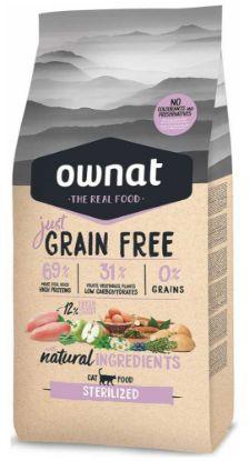 Obrázek OWNAT Cat Just Grain Free Sterilized 3 kg