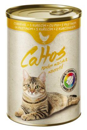 Obrázek Cattos Cat kuřecí, konzerva 415 g
