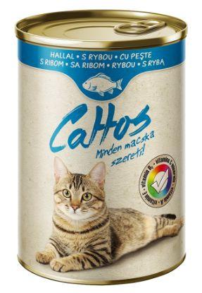Obrázek Cattos Cat rybí, konzerva 415 g