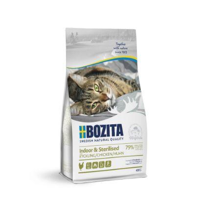 Obrázek Bozita Cat Indoor & Sterilised Chicken 400 g