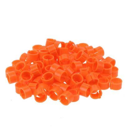 Obrázek Kroužky zámkové plast 16 mm, oranžová