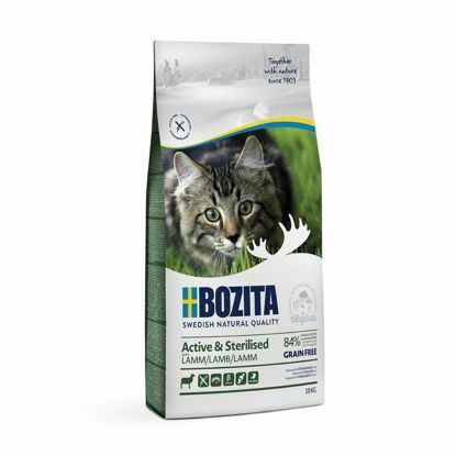 Obrázek Bozita Cat Active & Sterilised Lamb GF 10 kg