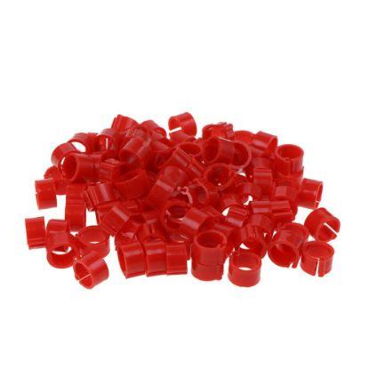 Obrázek Kroužky zámkové plast 16 mm, červená