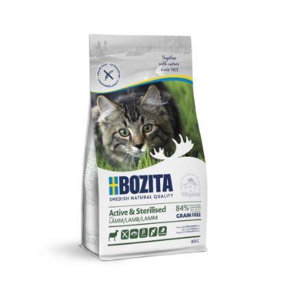 Obrázek Bozita Cat Active & Sterilised Lamb GF 400 g