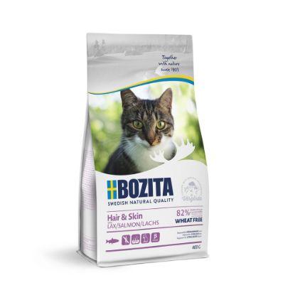 Obrázek Bozita Cat Hair & Skin 400 g