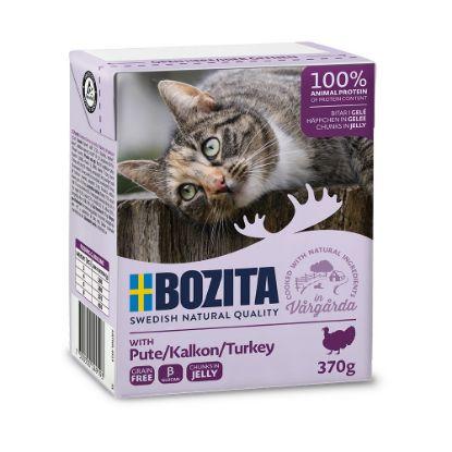 Obrázek Bozita Cat kousky v želé s krůtím, kapsička 370 g